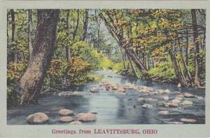 Ohio Leavittsburg Greetings From