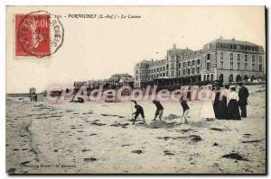 Postcard Old Pornichet L Inf Casino