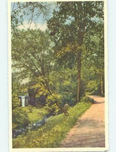 Unused Linen-Like FALLS OF BASS LAKE AT BILTMORE HOUSE HOTEL Biltmore NC Q6647