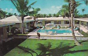 Atrium II Motel Pool Pompano Beach Florida