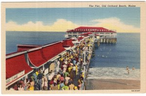 Old Orchard Beach, Maine, The Pier
