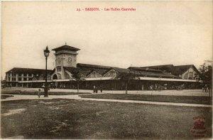 CPA AK INDOCHINA Saigon Les Halles Centrales VIETNAM (957067)