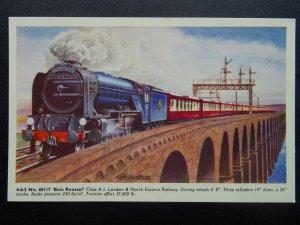 L&NER Londre & Nord Orientale Chemin de Fer Locomotive No.60117 Bois Roussel -