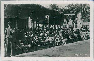 Vintage postcard - IRAQ : BAGHDAD - Cafè