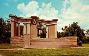 Mississippi Vicksburg National Miltary Park Texas Memorial 1967