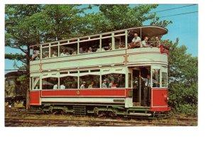 Double-Deck Tram Car, Maine, Seashore Trolley Museum, Kennebunkport, Maine