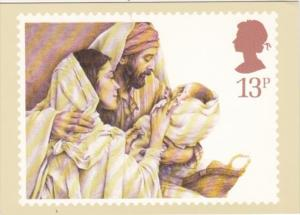 Stamps Christmas The Holy Family by Yvonne Gilbert 20 November 1984 First Day...