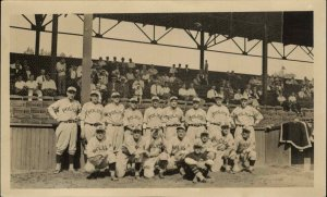 Baseball Team Stands NY POLICE Uniforms NYPD? Vintage Photo Photograph