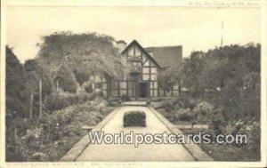 Shakespeare's Birthplace Stratford-upon-Avon UK, England, Great Britain Unused