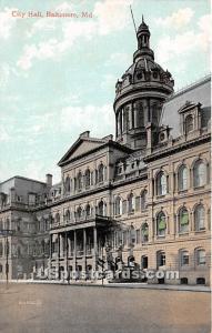 City Hall Baltimore MD Unused