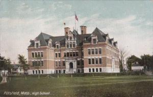 High School Pittsfield Massachusetts 1910