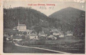 EBENAU SALZBURG AUSTRIA~PANORAMA~1913 PHOTO POSTCARD