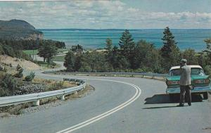 The Highway in Fundy National Park,  N.B., Canada,  40-60s