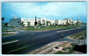 PATRICK AIR FORCE BASE, FL ~ Technical Laboratory AFMTC Missiles c1960s Postcard