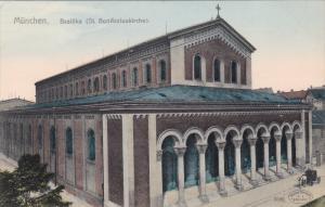 Munchen, Basilika, St. Bonifaziuskirche, Bavaria, Germany, 00-10s