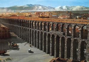 Italy Segovia Acueducto Romano, Roman Aqueduct