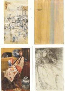 James Whistler 4x Painting Postcard Bundle