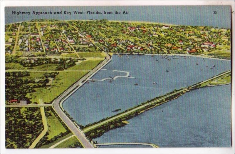 FL -  Key West. Aerial View