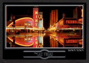 NV Mint Hotel Casino Fremont  LAS VEGAS NEVADA Postcard