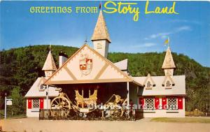 Glen, New Hampshire, NH, USA Postcard Replica of the famous English Coroantio...