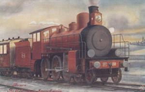 St. Petersburg-Moscow Express Train , 00-10s ; TUCK 9274