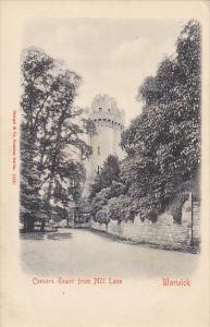 England Warwick Caesars Tower From Mill Lane