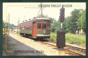 NEW ORLEANS - STREET CAR NAMED DESIRE #966  Seashore Trolley Museum  Postcard