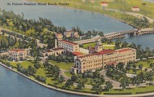 MIAMI BEACH , Florida, 1930-40s ; St. Francis Hospital