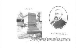 Indianapolis, IN, USA Benjamin Harrison