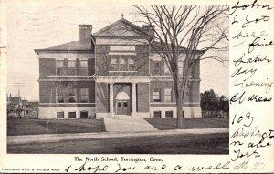 Connecticut Torrington North School 1906