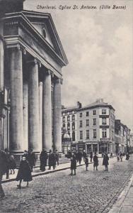 Belgium Charleroi Eglise St Antoine Ville Basse 1909