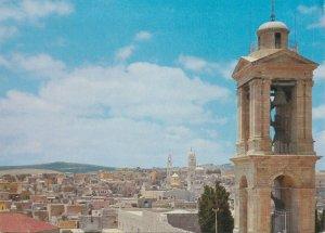 Postcard Palestine Bethlehem Nativity Church and general aspect