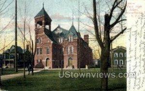 Park High School in Hornellsville, New York