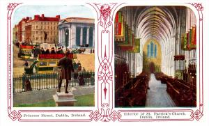 Ireland Dublin    Multiview Princess St. Interior St.Patrick's...