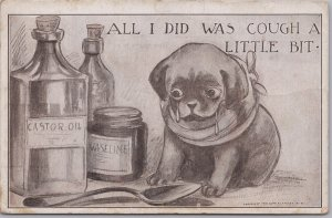Roth & Langley, Cute puppy & Medicine All I did is cough a little bit -1911