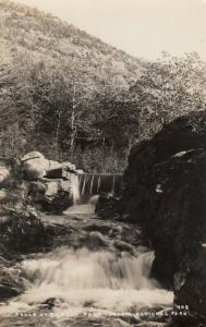 RP: ARCADIA NATIONAL PARK, Maine, 1920-40s; Falls at Bubble Pond