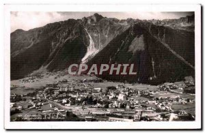 Old Postcard Chamonix Brevent View anD