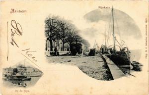 CPA ARNHEM Rijnkade Op de Rijn NETHERLANDS (604652)