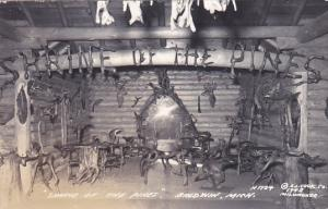 RP: Shrine of the Pines, Driftwood Furniture, Mounted Dear Heads, Baldwin, Mi...