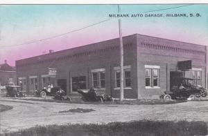 MILBANK , South Dakota, 1908 ; Milbank Auto Garage
