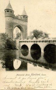 CT - Hartford. Memorial Arch