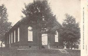 Pennsylvania Willow Street Brick Old Mennonite Curch