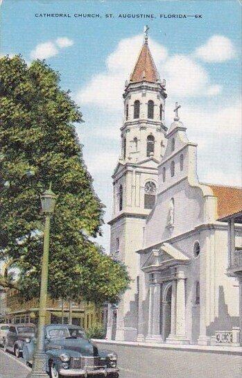Cathedral Church Saint Augustine Florida