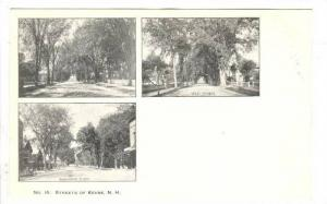 3Views Of Streets, Court Street, West Street, Washington Street, Keene, New H...