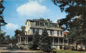 Stroudsburg Pennsylvania~Pinebrook Bible Conference Headquarters~1956 Postcard