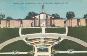 INDIANAPOLIS , Indiana , 1930s Garden type Mausoleum , Floral Cemetery