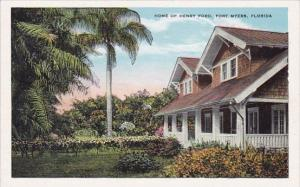 Florida Fort Myers Home Of Henry Ford