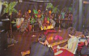 Bermuda Hamilton Limbo Dancers In The Jungle Room 1970