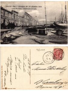 CPA MESSINA dopo il terremoto del 28 dicembre 1908 . ITALY (494218)
