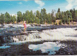 Canada Rushing Rivers and Waterfalls Thunder Bay Ontario